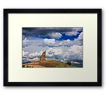 Ruined Byzantine Tower Framed Print