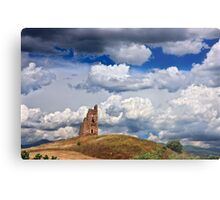 Ruined Byzantine Tower Metal Print