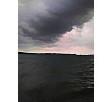 Ominous Cloud in the Imminent Future Photographic Print