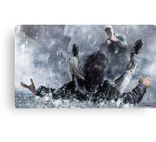 Comic hero Canvas Print