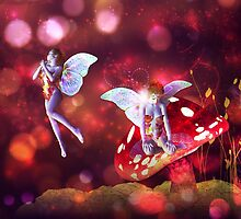 Magic mushroom fairy 4 by AnnArtshock