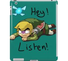 Link & Navi - The Legend Of Zelda iPad Case/Skin