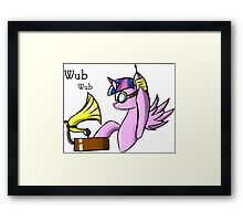 DJ Twilight Framed Print