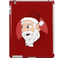 Santa Claus cartoon iPad Case/Skin