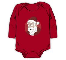 Santa Claus cartoon One Piece - Long Sleeve