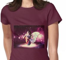 Space fairy Womens Fitted T-Shirt