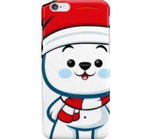 Polar Bear Boy - Christmas Kawaii iPhone Case/Skin