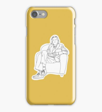 Wes Anderson Contour iPhone Case/Skin