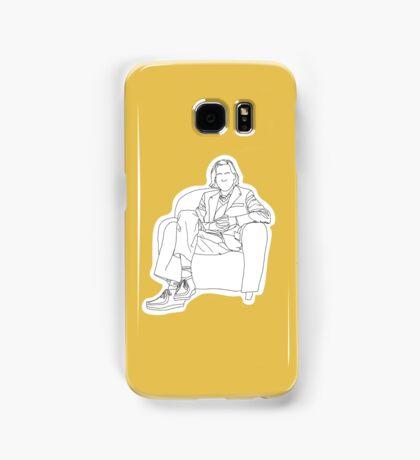 Wes Anderson Contour Samsung Galaxy Case/Skin