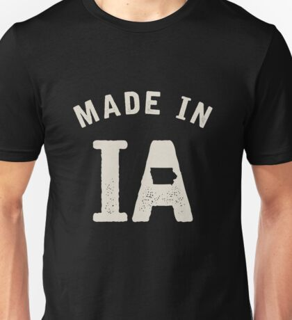 Made in IA Unisex T-Shirt