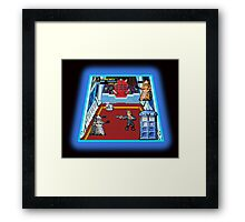 Doctor Who: The Arcade Game Framed Print