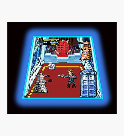 Doctor Who: The Arcade Game Photographic Print