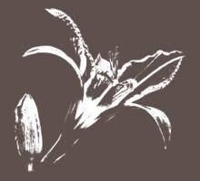 Flower (white) One Piece - Short Sleeve