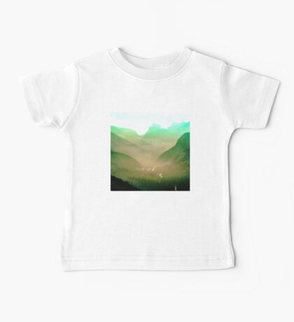 Mountains - Wildfire in the Valley Baby Tee