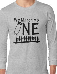 We March As One Long Sleeve T-Shirt