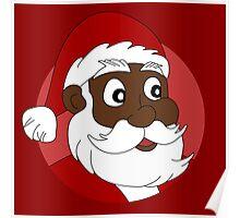 Santa Claus cartoon Poster