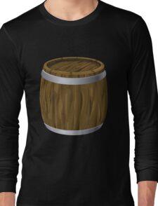 Glitch Furniture bag cabinet barrel Long Sleeve T-Shirt