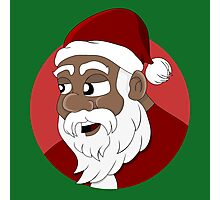 Santa Claus cartoon Photographic Print