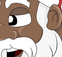 Santa Claus cartoon Sticker