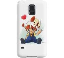 Boy and his Friend Samsung Galaxy Case/Skin