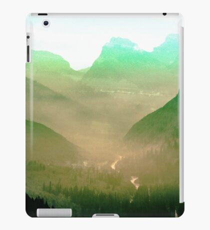 Mountains - Wildfire in the Valley iPad Case/Skin