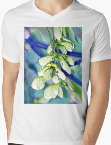 Maple seeds Mens V-Neck T-Shirt