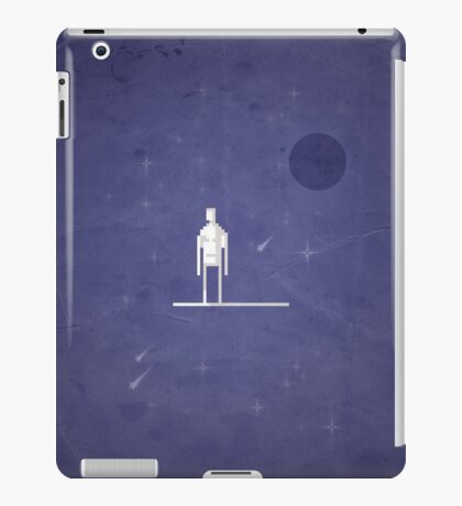 8-bit Galactic Surfer iPad Case/Skin