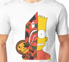 A Bathing Ape x Bape x The Simpsons x Bart Unisex T-Shirt