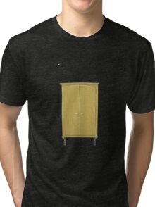 Glitch Furniture bag cabinet crap 2 3 Tri-blend T-Shirt
