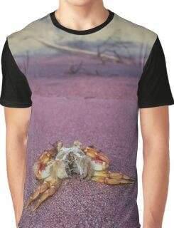 Mr. Crab - Remains | Montauk, New York Graphic T-Shirt