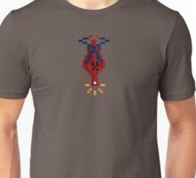 8-bit Man Spider Unisex T-Shirt