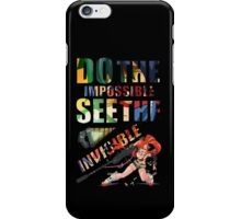 Do The Impossible, See The Invisible - Yoko iPhone Case/Skin