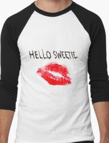 Hello Sweetie Kiss Kiss Men's Baseball ¾ T-Shirt