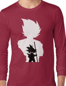 Goku and Kid Goku Long Sleeve T-Shirt