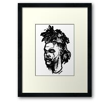 A Mohawk for The Weekend Framed Print