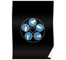 Rock, Paper, Scissors, Lizard, Spock Poster