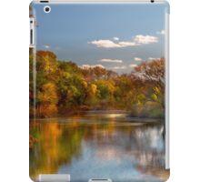 Auutumn - Hillsborough NJ - Painted by nature iPad Case/Skin