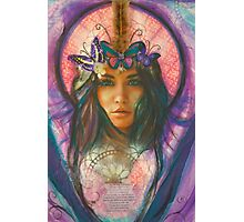 Butterfly Angel Belle Photographic Print