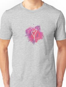 watercolor heart Unisex T-Shirt