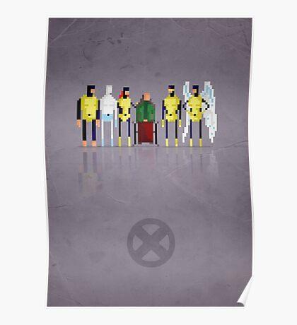 8-bit Y-Men Poster