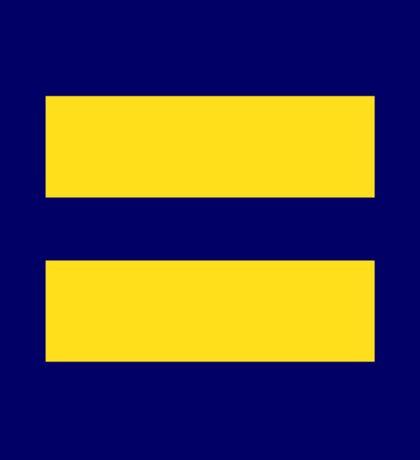 Human Rights Campaign Logo Sticker