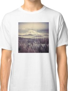 Mountains - Mt. Hood Remember the Snow Classic T-Shirt