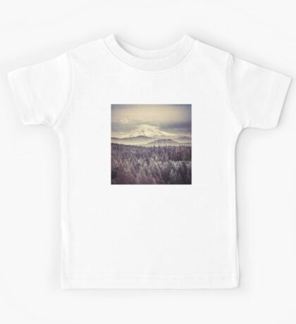 Mountains - Mt. Hood Remember the Snow Kids Tee