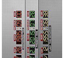 DeLorean Dashboard by ByteCage