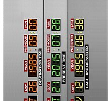 DeLorean Dashboard by ByteCage