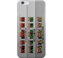DeLorean Dashboard iPhone Case/Skin