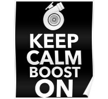 Keep Calm Boost On Poster