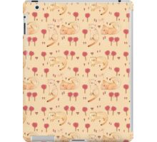 Orange Cat Pattern iPad Case/Skin