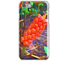 Orange Thing in the Shadows iPhone Case/Skin