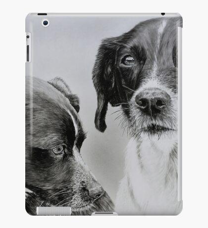 """""""Spike and Stip"""" - Dog portraits iPad Case/Skin"""